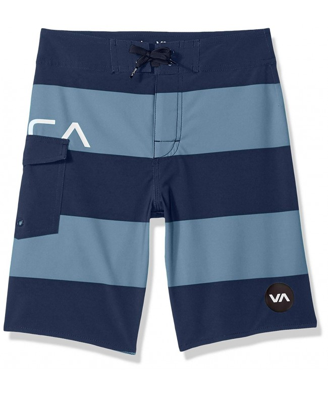 RVCA Boys Uncivil Stripe Trunk