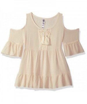 Beautees Girls Cold Shoulder Fashion