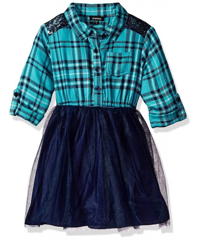 Zunie Girls Little Flannel Shirt