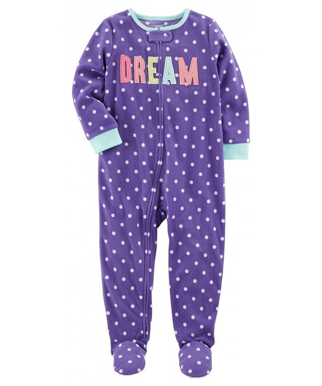 Carters Girls 12M 14 Piece Pajamas