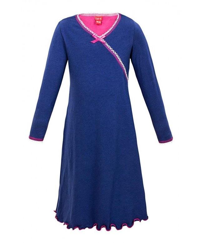 Girls Nightgown Navy Size 164 170