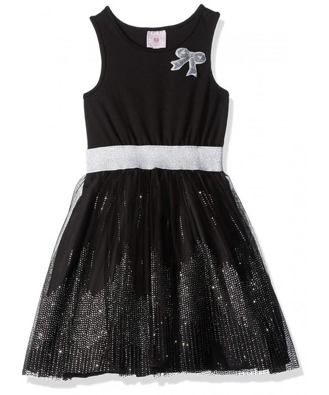 Marmellata Girls Bodice Dress Sparkle
