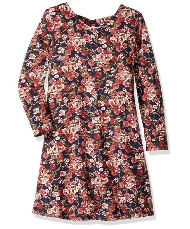 Amy Byer Girls Print Dress