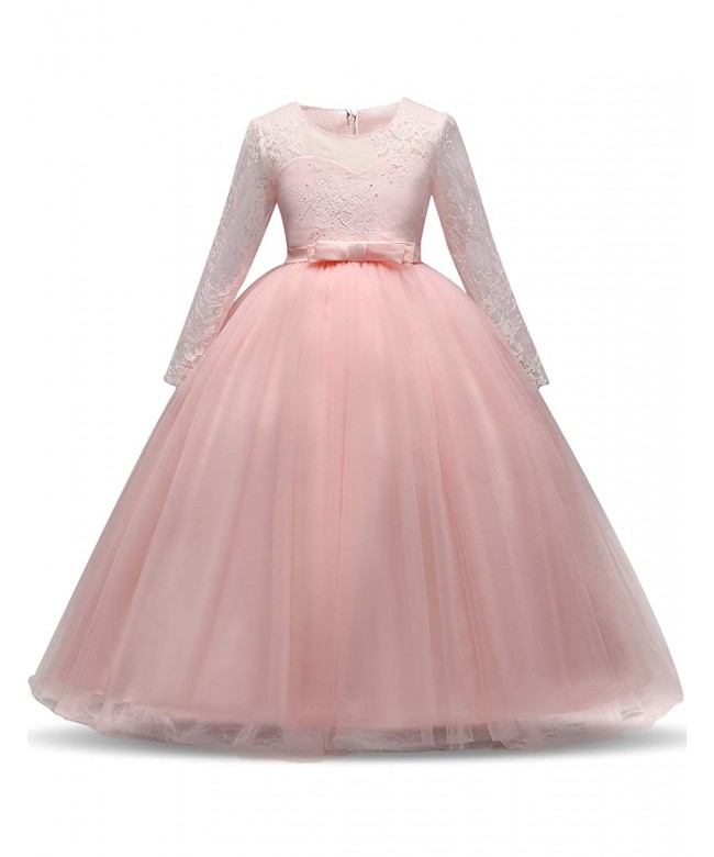 NNJXD Tulle Floor Length Bridesmaid