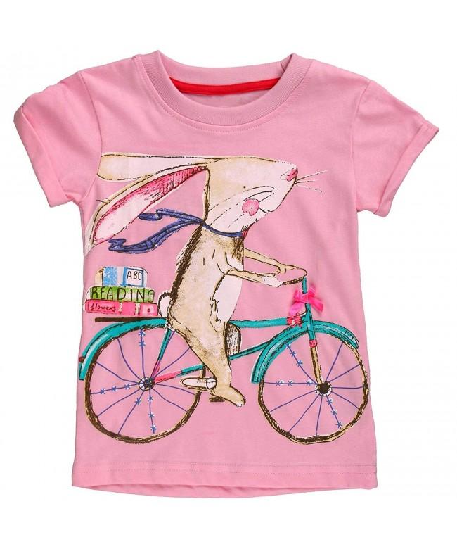 Babytree Cartoon T Shirts Cycling Striped