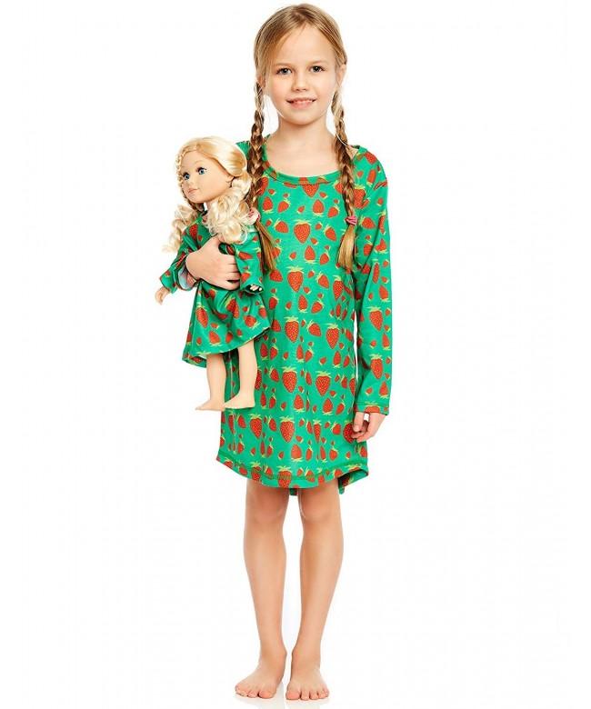 Leveret Matching Nightgown Sleepwear American