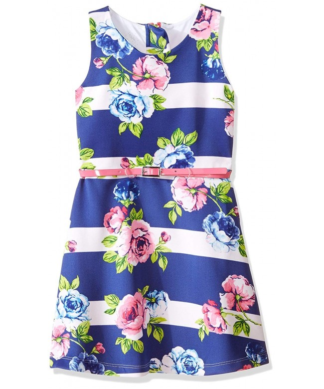 Marmellata Girls Belted Tank Dress