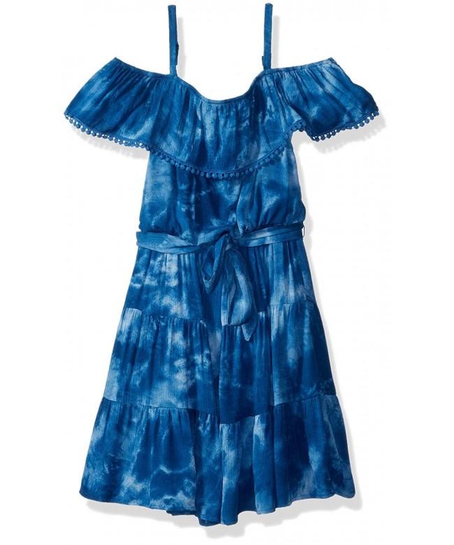 Amy Byer Girls Shoulder Dress