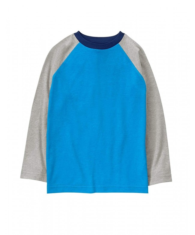 Crazy Boys Long Sleeve Raglan Top