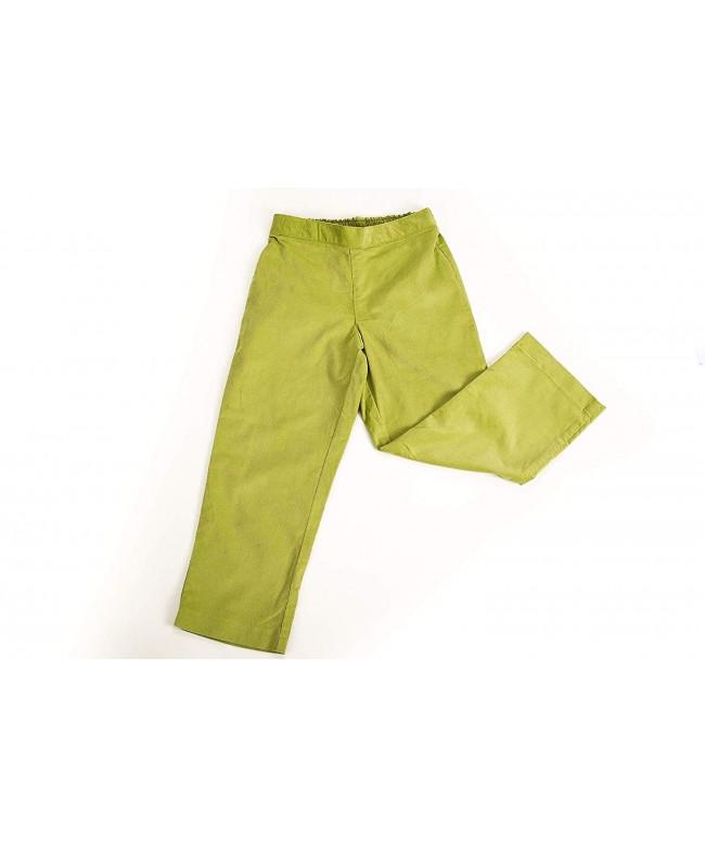 EVERBLYSS Lime Corduroy Pants