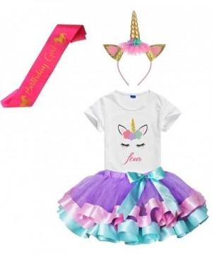 Layered Skirts Unicorn Headband Birthday