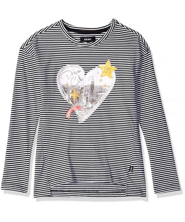 DKNY Girls Long Sleeve T Shirt