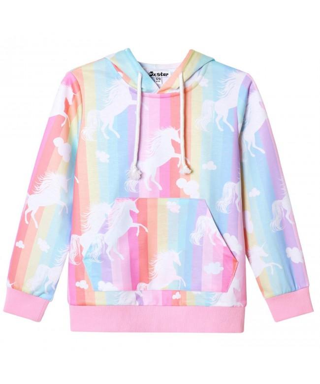 Jxstar Unicorn Sweatshirt Pullover Clothes