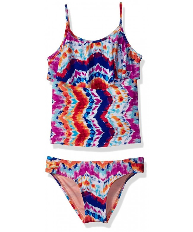 Hobie Girls Tankini Hipster Swimsuit