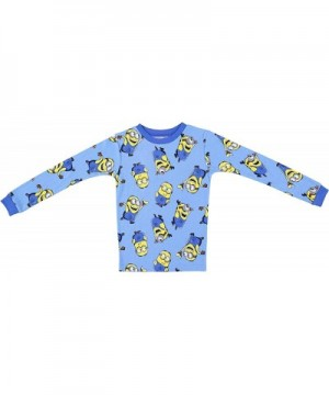 2-Pack of 2-Piece Long Sleeve Pajama Set Minions Boys Despicable Me Pajamas