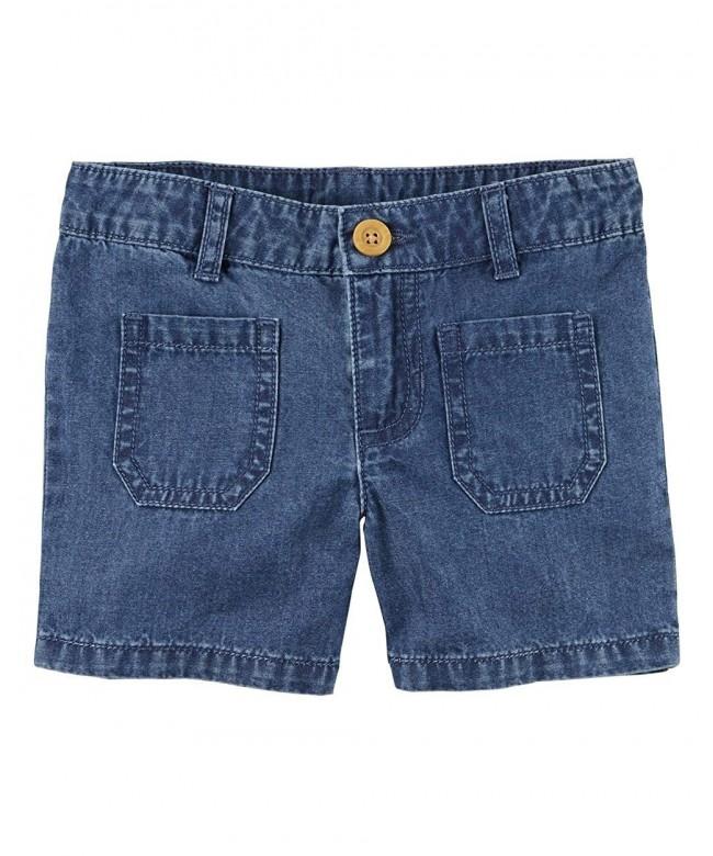 Carters Little Pocket Shorts 6 Kids