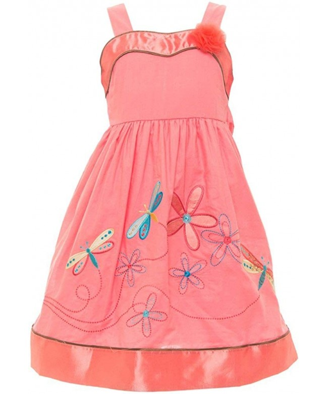 ToBeInStyle Cotton Summer Dresses Embroidery