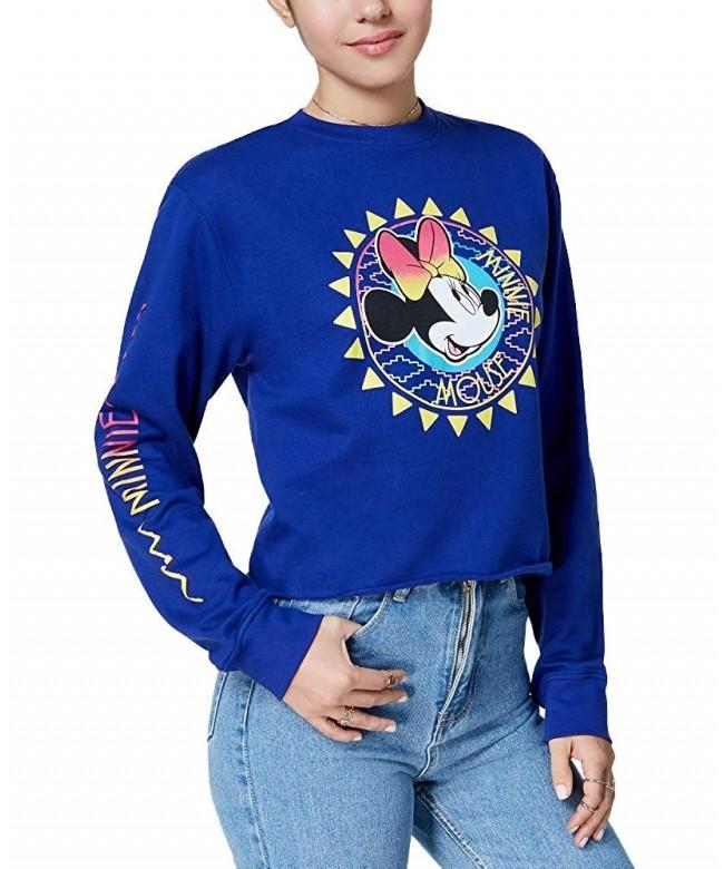Freeze Juniors Cotton Minnie Mouse Graphic Sweatshirt