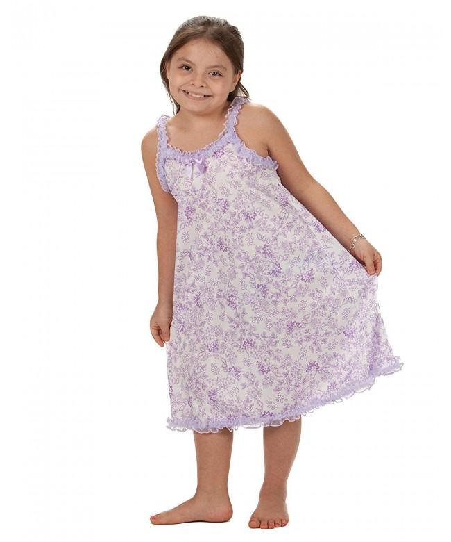 Laura Dare Lavender Strappy Nightgown