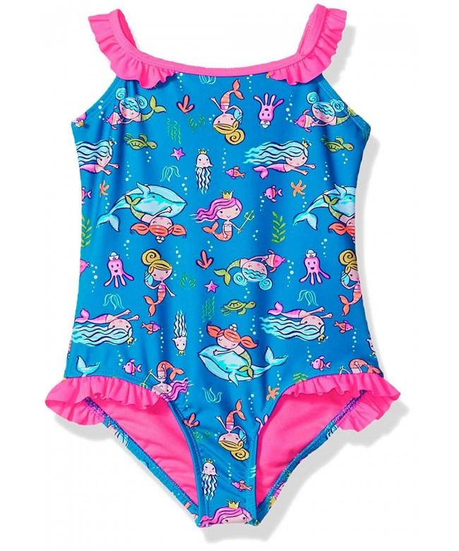 Angel Beach Mermaid Swimsuit Ruffles