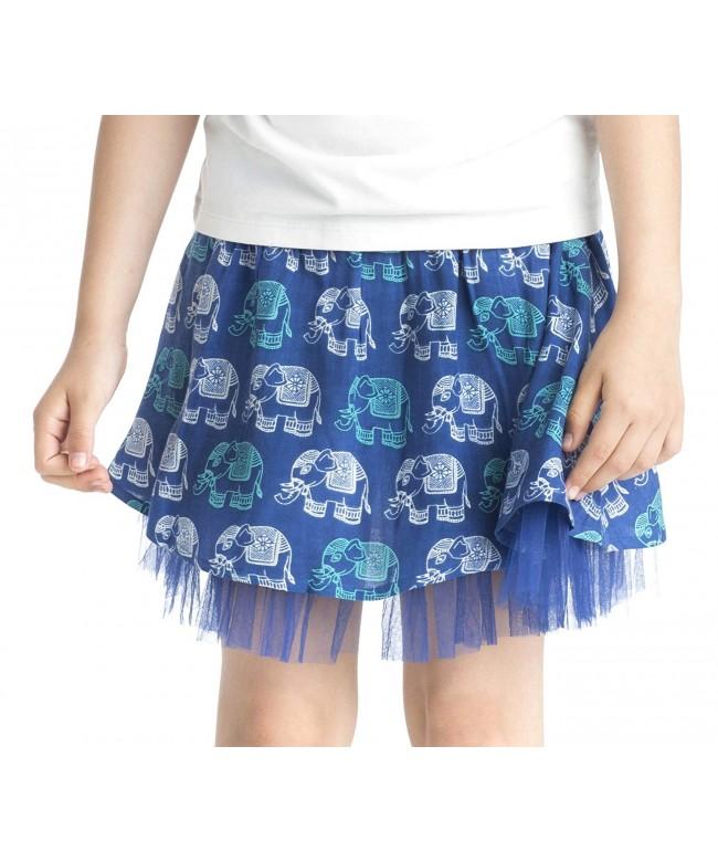 Masala Kids Girls Gajah Skirt