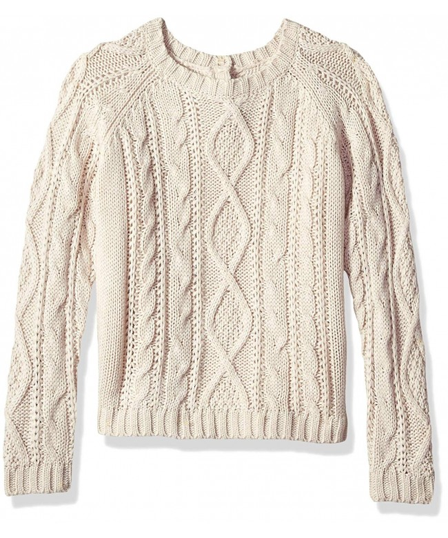 Crazy Girls Big Cable Sweater