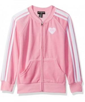 XOXO Girls Velour Front Jacket
