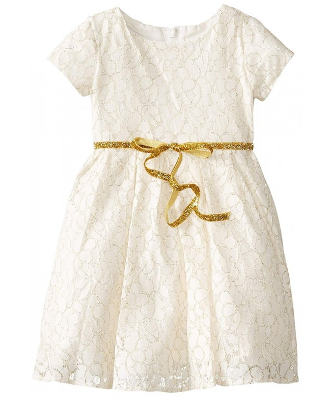 Angels Little Girls Lace Sleeve
