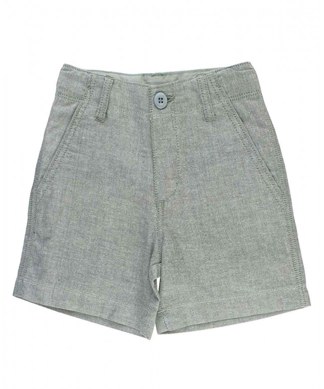 RuggedButts Little Boys Chambray Shorts
