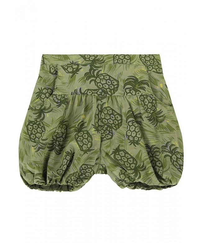 Cotton Lala Shorts Pineapple Print