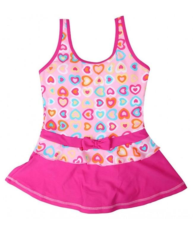 iDuoDuo Bowknot Swimwear Princess Swimsuit