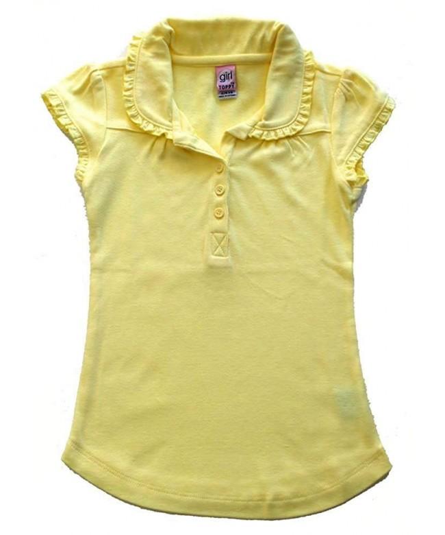Girl Toppy School Uniform Ruffle