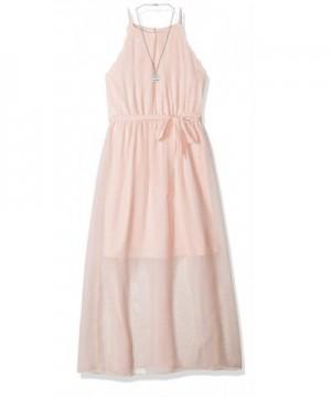 Amy Byer Girls Scalloped Dress