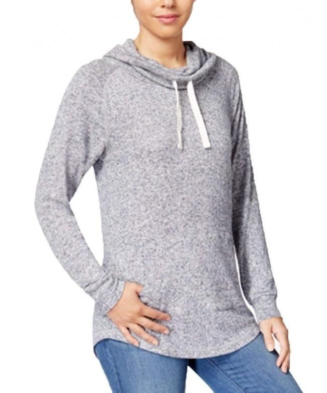 Ultra Flirt Juniors Funnel Neck Sweatshirt
