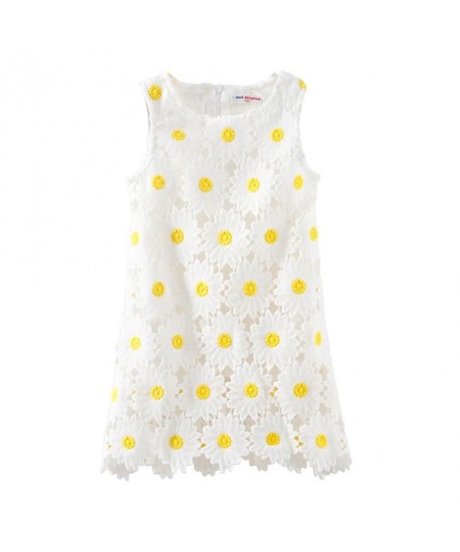 Mud Kingdom Boutique Dress Sunflower