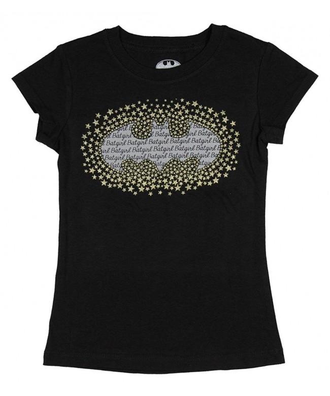 Batgirl Comics Super T Shirt Glitter