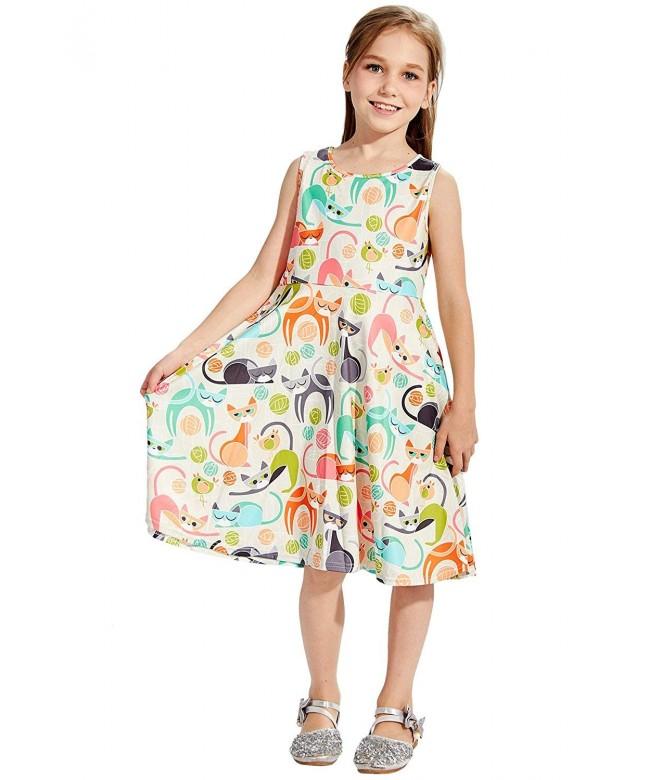 Ahegao Floral Sleeveless Skirts Dresses
