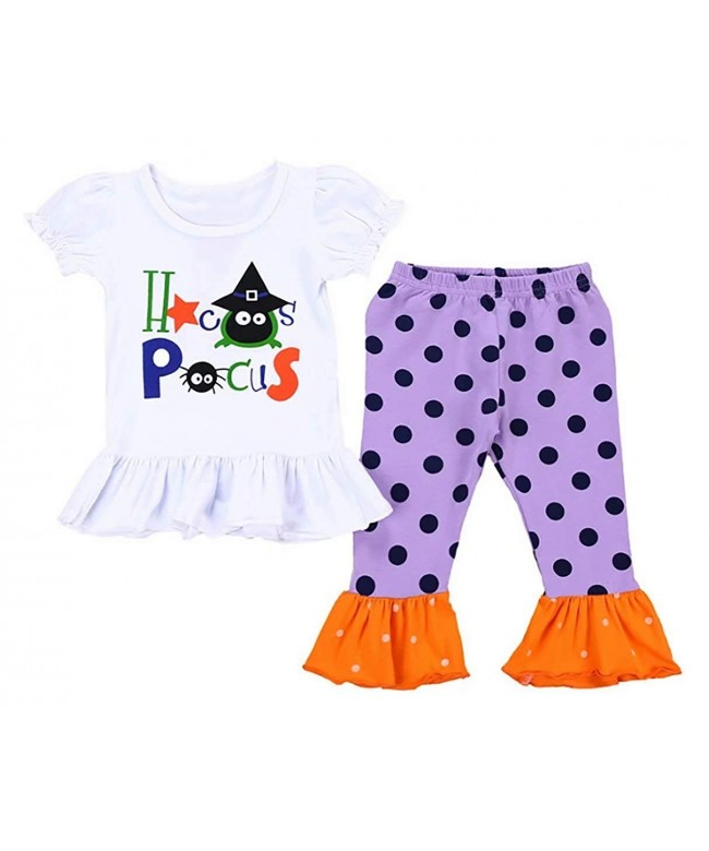 UNIQUEONE Toddler Halloween Outfits Bellbottoms