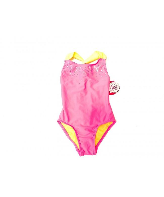 SO Girl Gliters Piece Swimsuit
