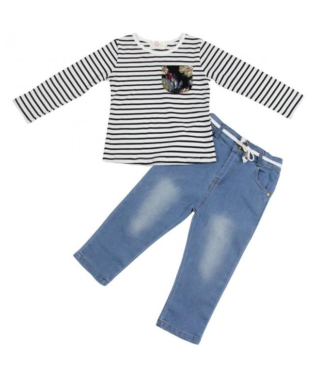 Jastore Little Clothing Striped T Shirt
