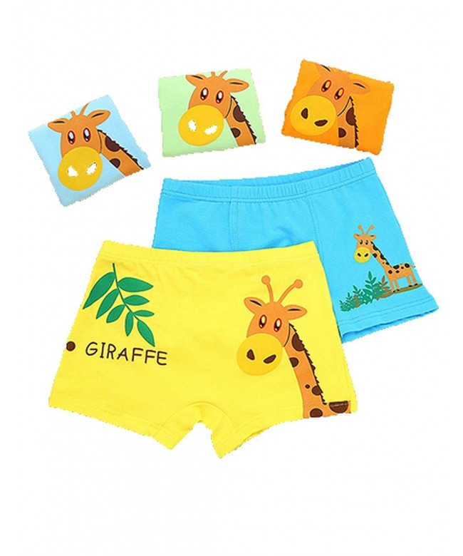 Giraffe Briefs Cotton Underwear Shorts