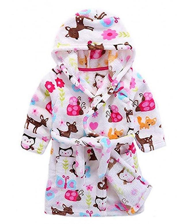 Bathrobes Toddler Bathrobe Pajamas Sleepwear