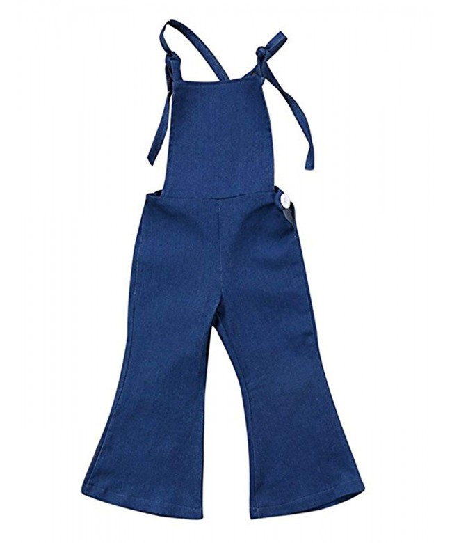 KONIGHT Toddler Suspender Overall Jumpsuit