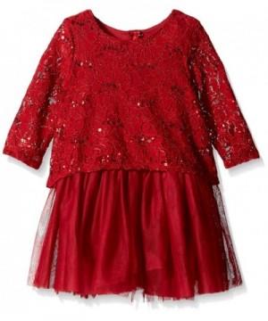 PIPPA JULIE Girls Sequin Dress
