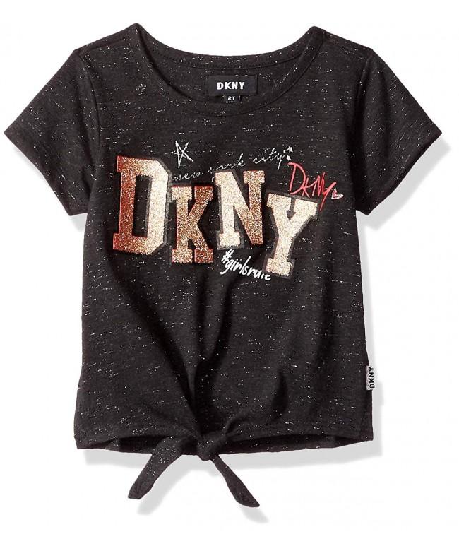DKNY Toddler Girls Rule Top