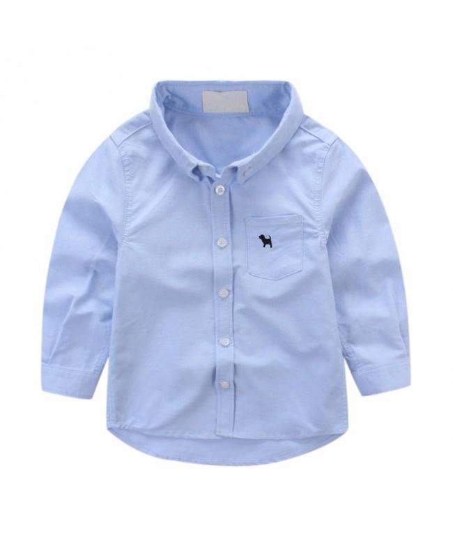 Uwback Cotton Pocket Solid Shirts