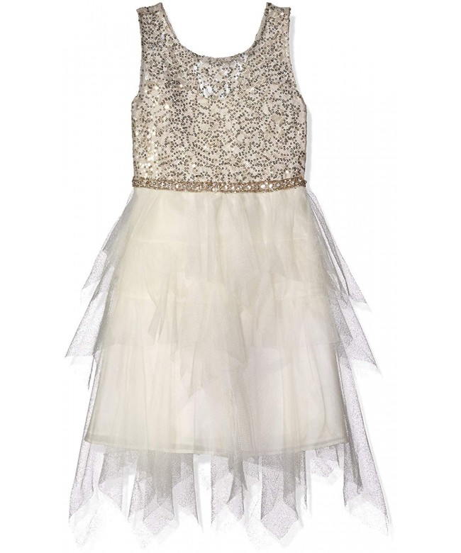 Tween Diva Girls Sequin Bodice