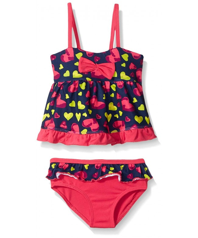 Pink Platinum Girls Tankini Swimsuit