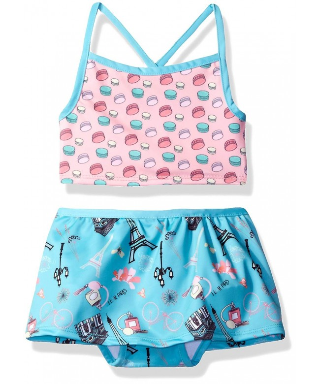 Jelly Pug Girls Tankini Swimsuit