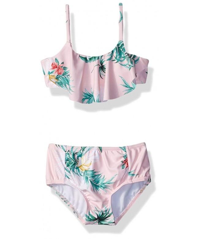 Seafolly Girls Ruffle Tankini Swimsuit